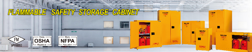 Flammable Safety Storage Cabinet By FM Approvals